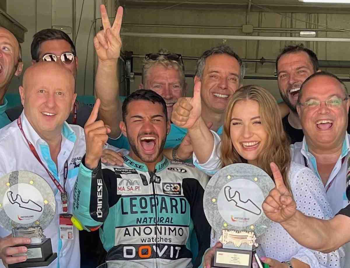 Leopard Racing объявила состав в Moto3 на 2022: Татсуки Судзуки присоединится к Деннису Фоджии