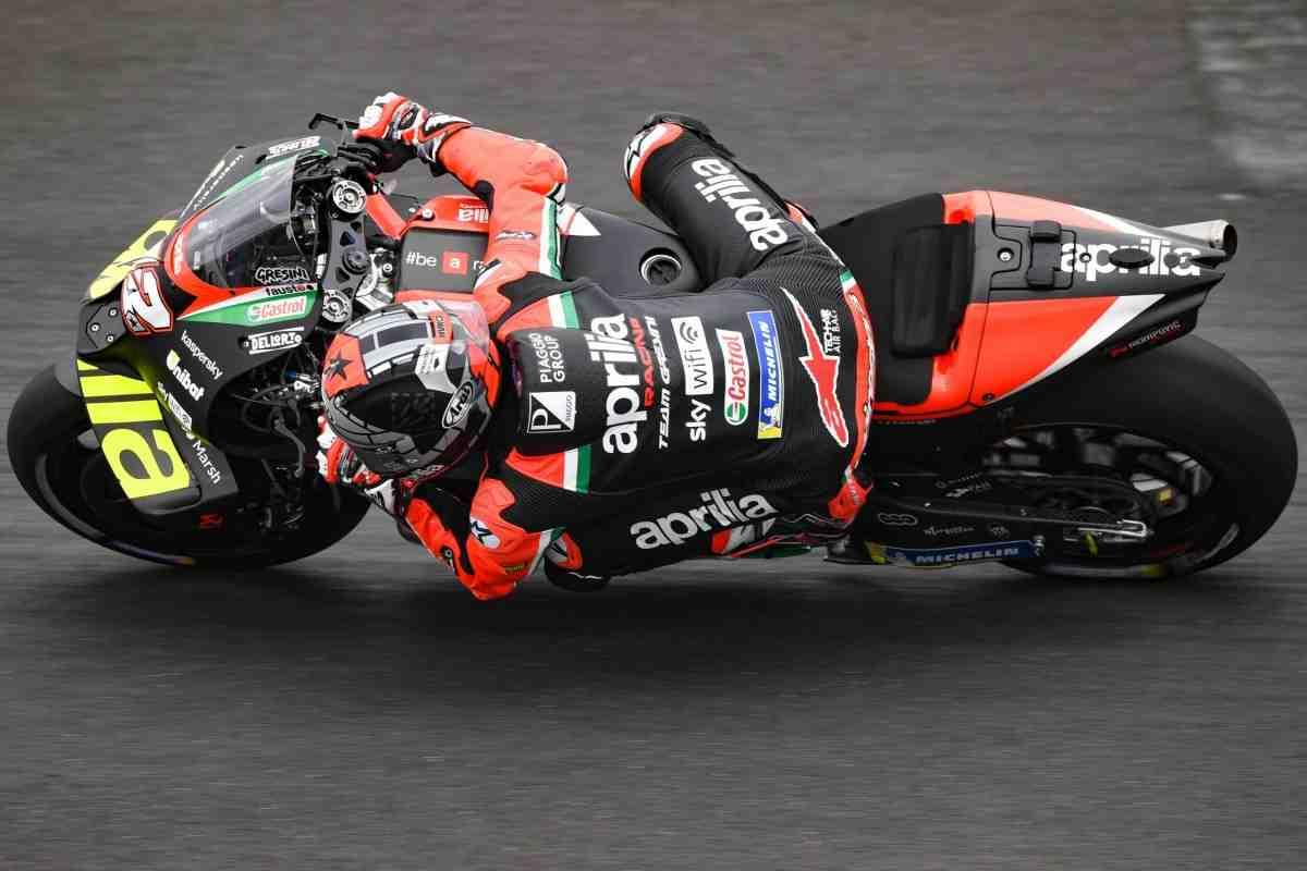 MotoGP: Маверик Виньялес - первый день с Aprilia в Мизано в 0.5 секунды от идеала!