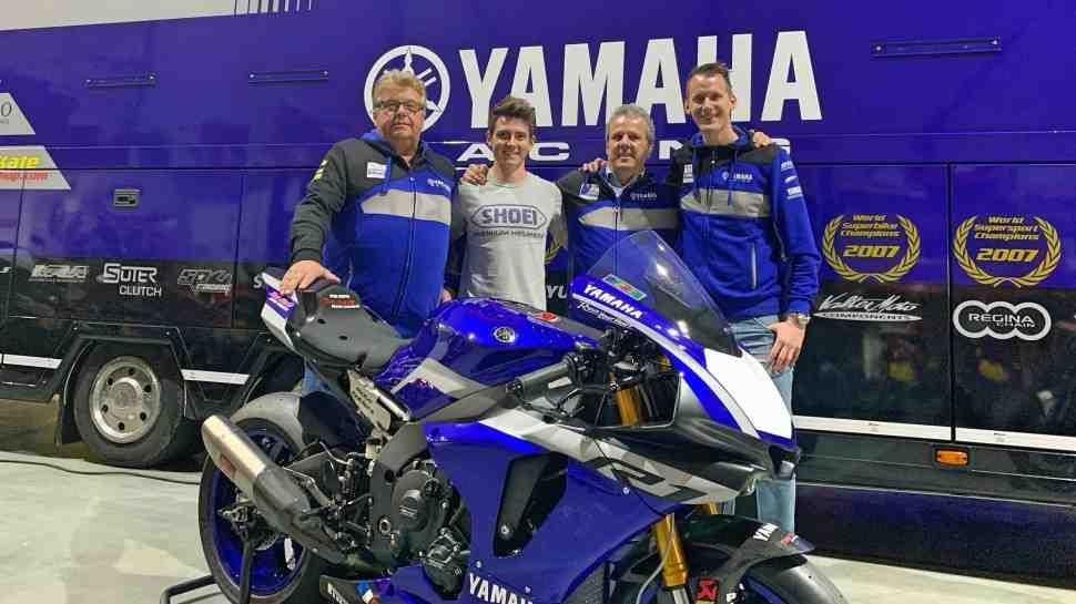 Ten Kate Racing ��������� �������������� � Yamaha ������������ � World Supersport