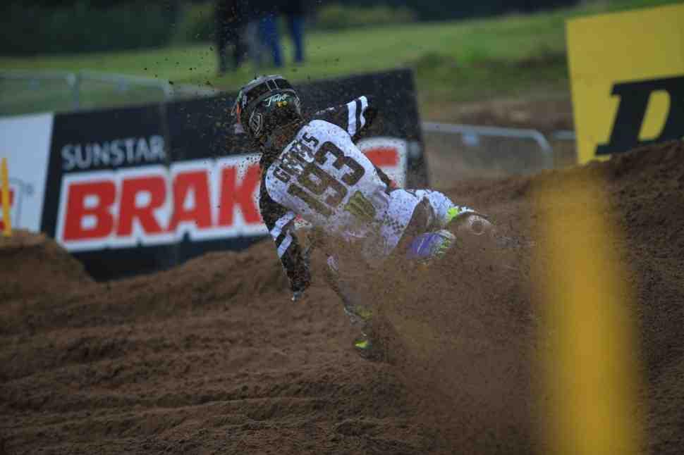 Мотокросс: результаты 2-го заезда и Гран-При Фландрии MX2