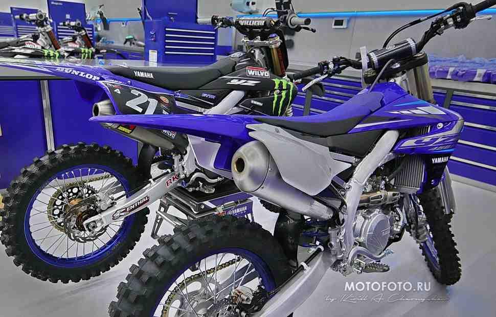 Эксклюзив: мотоциклы Monster Energy Yamaha YZ450FM Factory MXGP в мельчайших подробностях