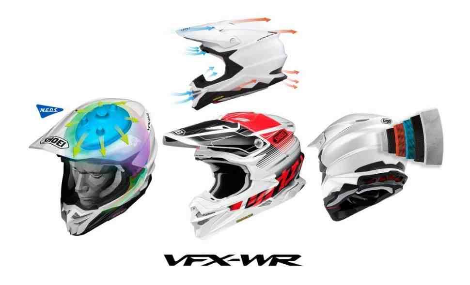 Shoei VFX-WR - новый флагман в кроссовом сегменте шлемов уже в России