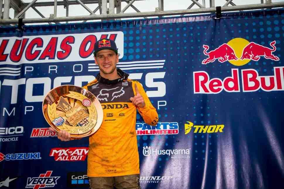AMA Motocross: долгожданная победа Кена Рокцена - результаты 1-го этапа, Hangtown