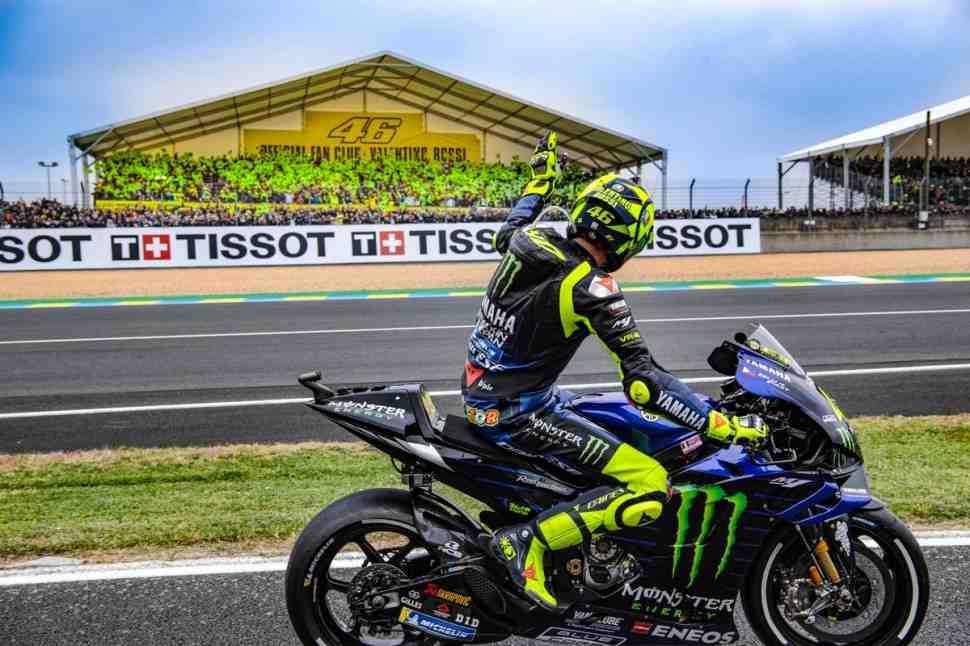 MotoGP: Валентино Росси - В конце концов, этот уикенд ушел в плюс!