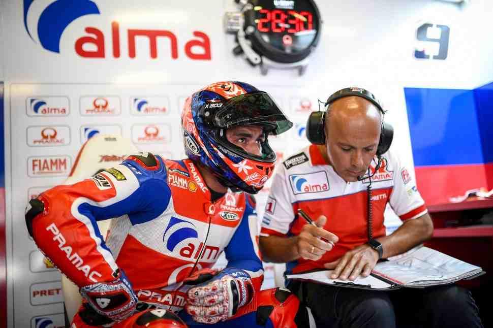 MotoGP: Петруччи получил большой апгрейд для своего Ducati