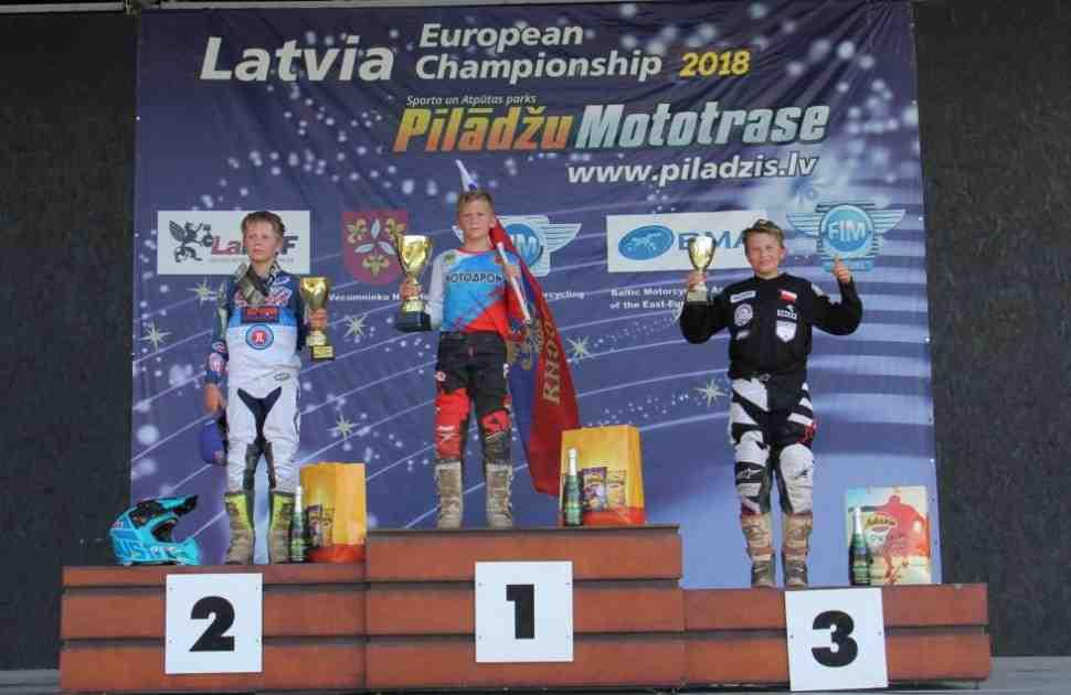 Мотокросс: 2-й этап чемпионата Европы северо-восточной зоны - победа Семена Рыбакова в Stelpe