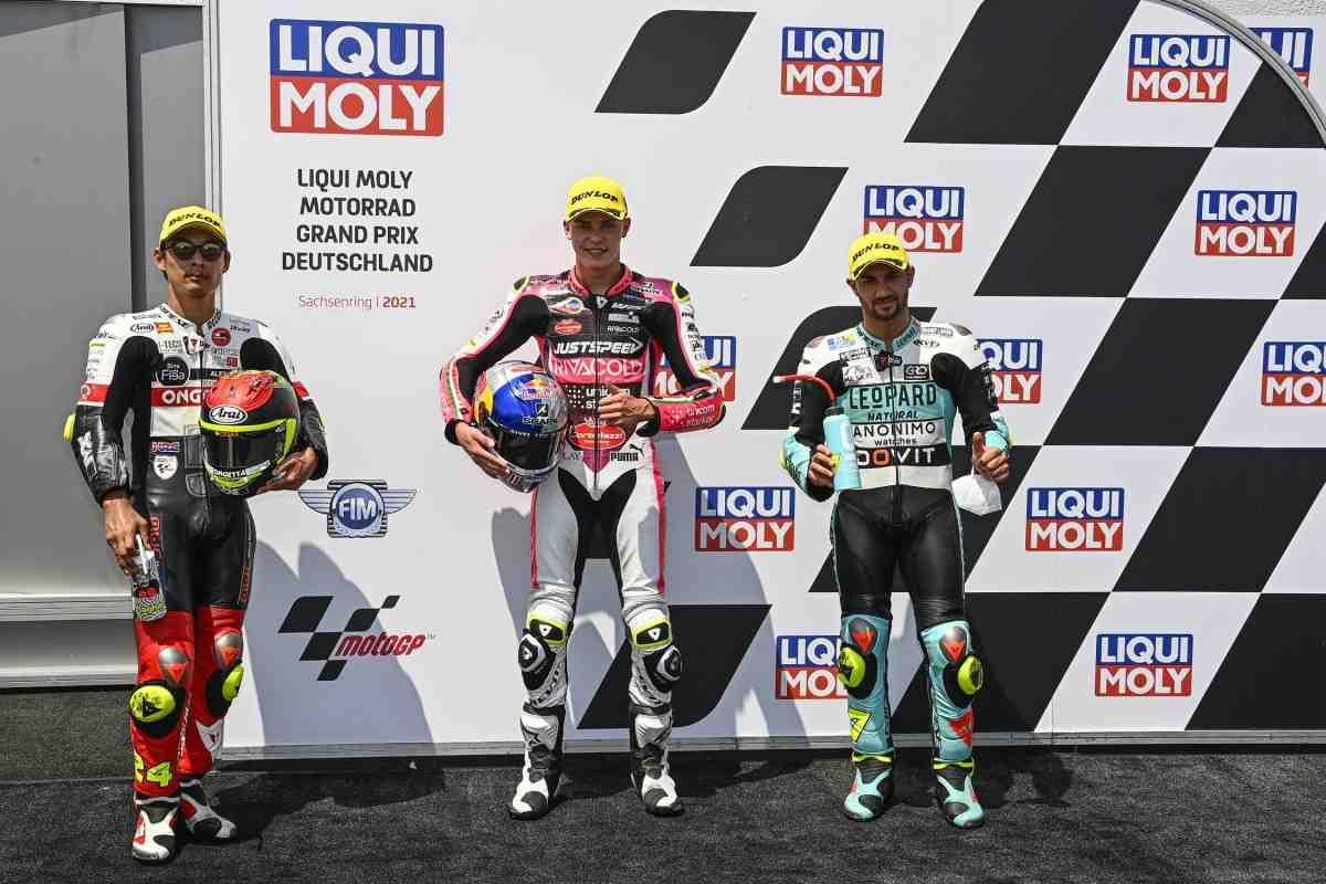 Moto3: Результаты квалификации Гран-При Германии - пилот из ТОП-12 - на поул-позиции