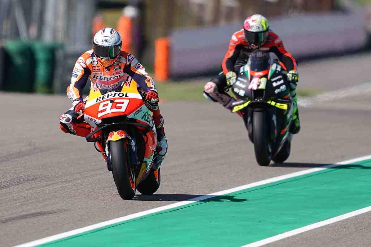 MotoGP GermanGP: Две квалификации - две разные битвы за лидерство и две сенсации