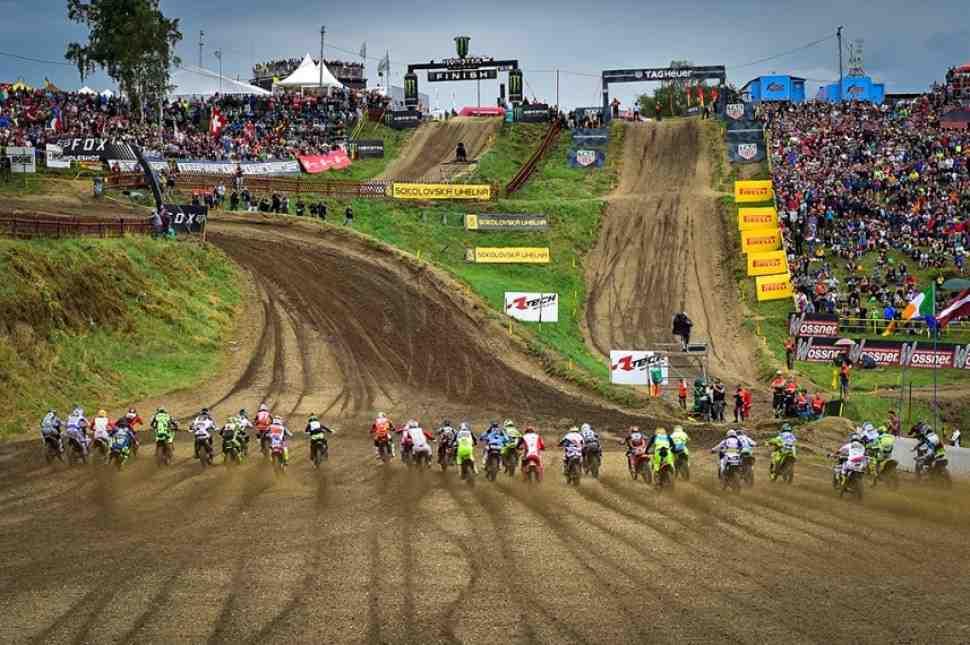 Мотокросс: Гран-При Чехии MXGP - расписание и хронометраж