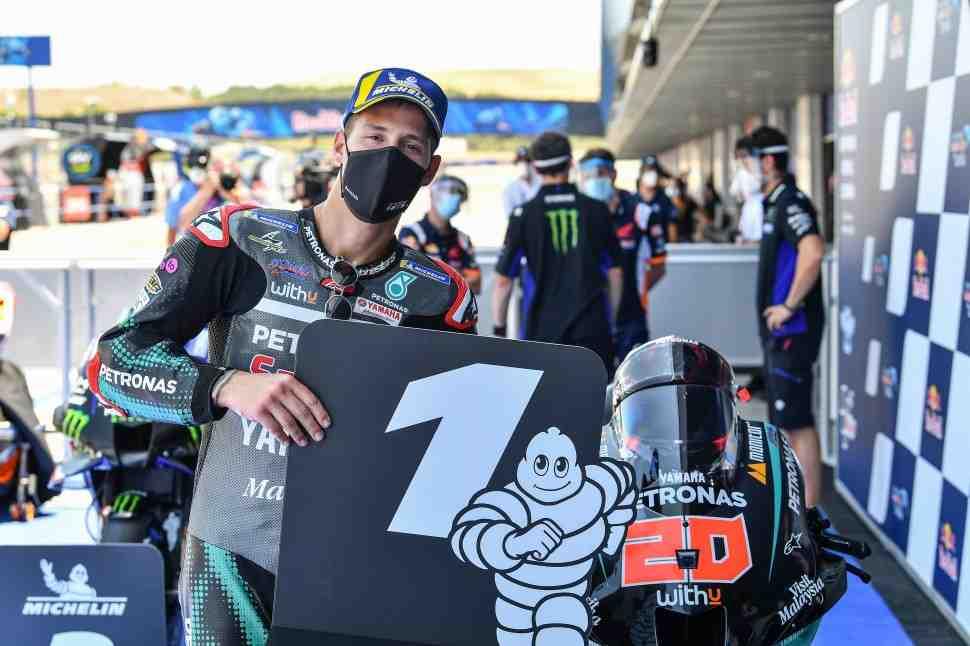 MotoGP - SpanishGP: Я - сдался, отметил Маркес; объяснено ключевое преимущество Куартараро
