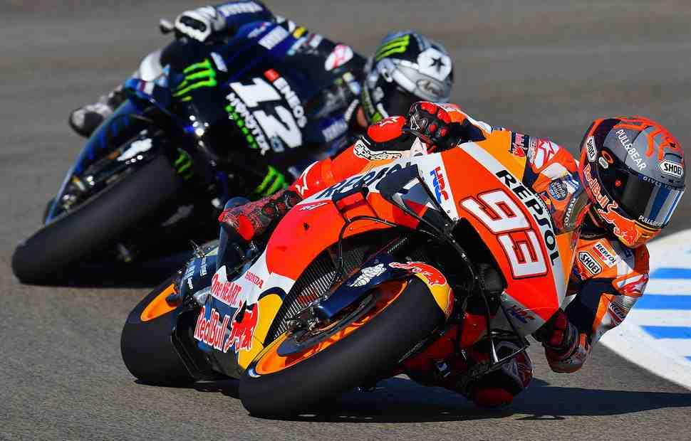 MotoGP - SpanishGP: Марк Маркес - безоговорочный лидер утреннего warmup в Хересе