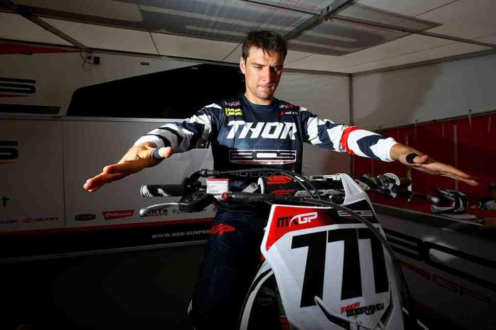 Мотокросс MXGP: Евгений Бобрышев о квалификации Гран-При Швейцарии