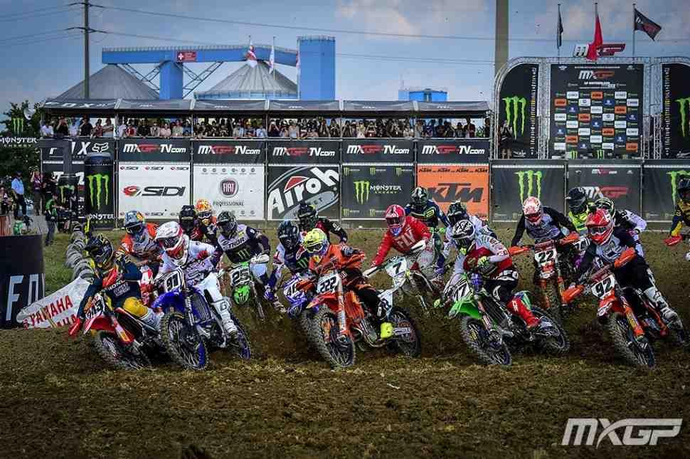 Мотокросс: смотрим квалификации Гран-При Швейцарии MXGP/MX2 - видео