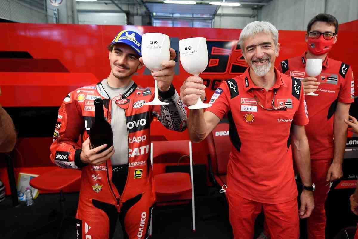 Ducati возглавляет Кубок Производителей MotoGP - Даль′Инья восхищается Баньяей и Мартином
