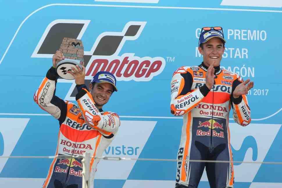 MotoGP: AragonGP - 8 побед на четверых или почему Motorland будет местом силы Дани Педросы