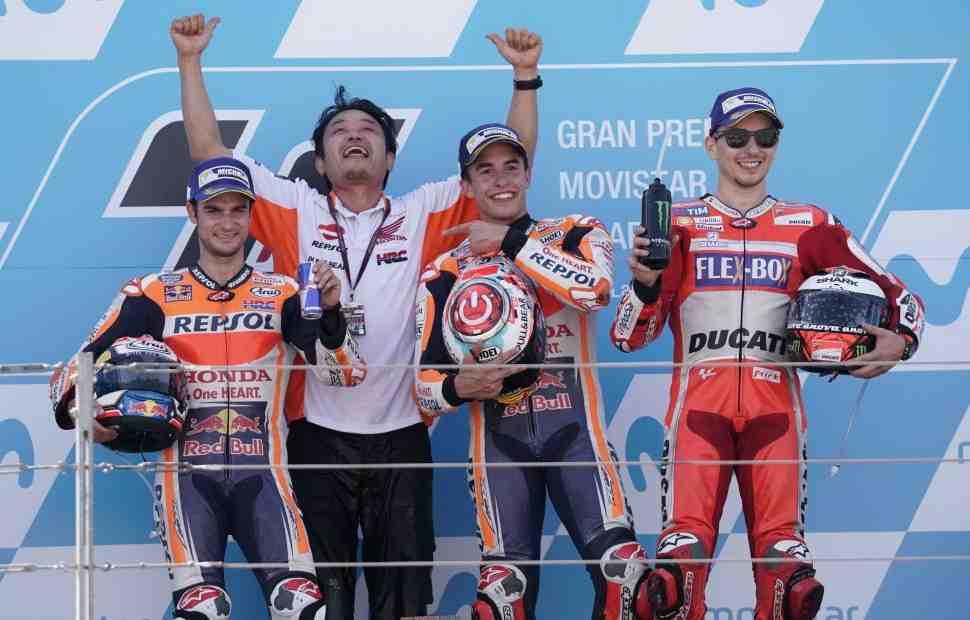 Расписание AragonGP: Гран-При Арагона MotoGP, Moto2, Moto3