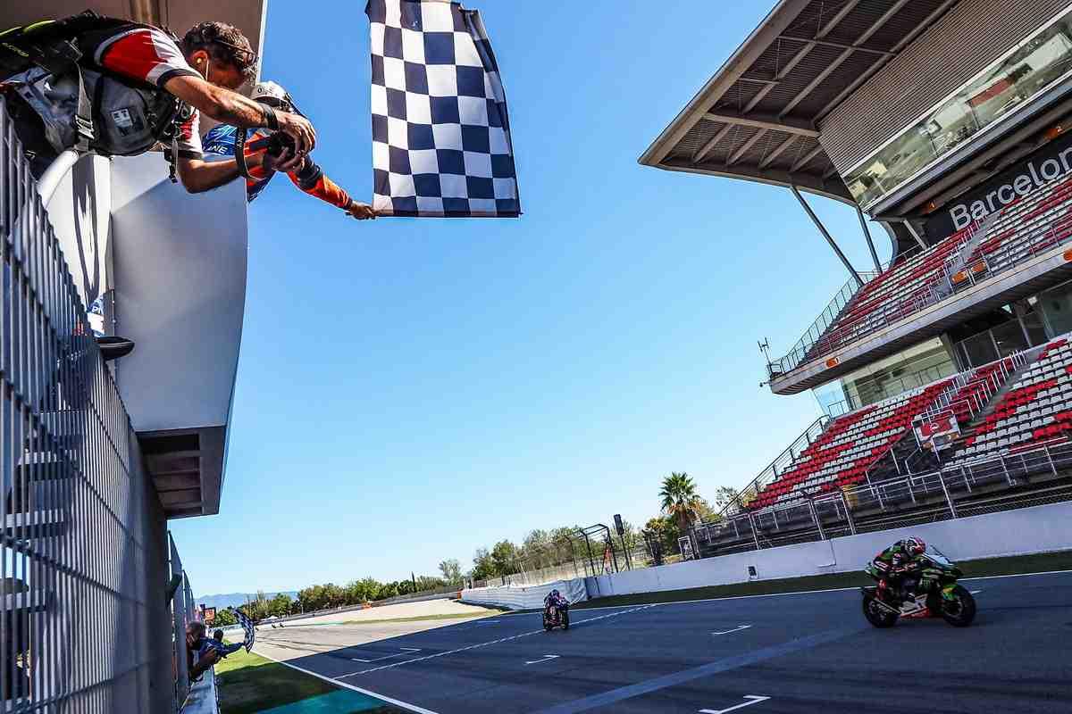 BarcelonaWorldSBK: ��� ������� ����� Superpole Race �� 5 ������ ����� ������� ������