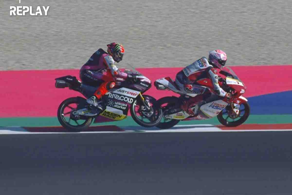 Moto3: Юки Кунии стал первым исключенным из гонки Гран-При за медленную езду