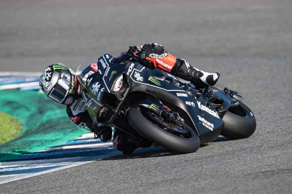 ����� � �����������: ���� �� Circuito de Jerez �� Kawasaki ZX-10RR Ninja 2021 � ���������� ����