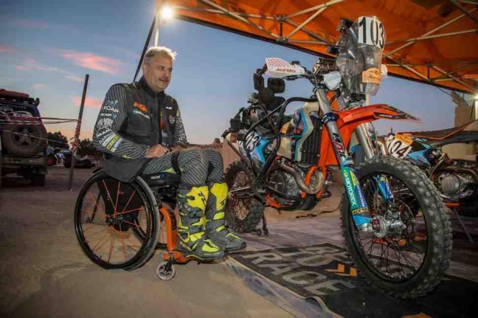 Дакар-2019: Призрачный гонщик - Николо Дутто
