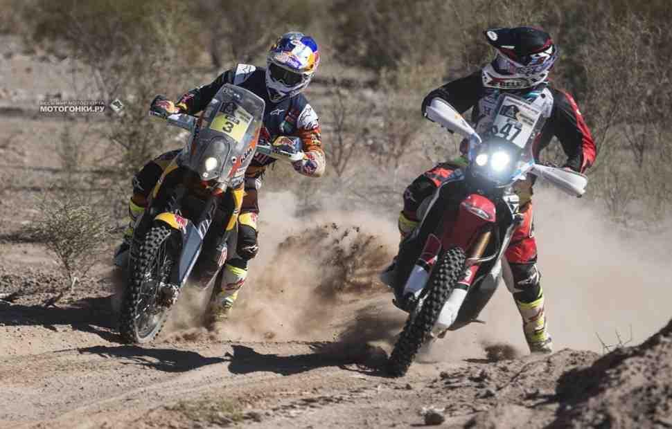 Дакар-2019: Honda vs KTM - Люди и мотоциклы