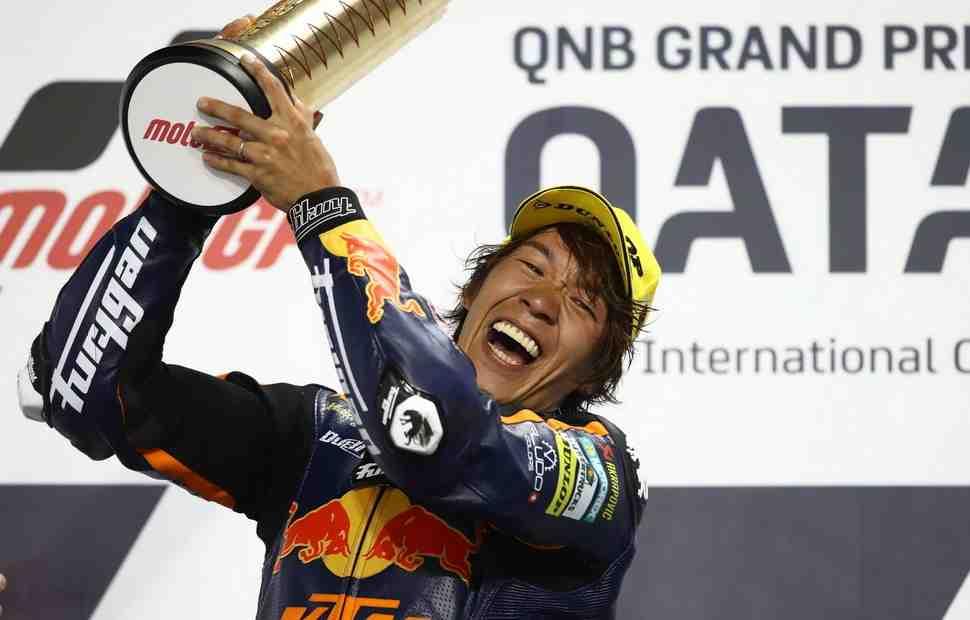 Победитель Гран-При Катара Moto2 - Тетсута Нагасима решил выйти из чемпионата мира