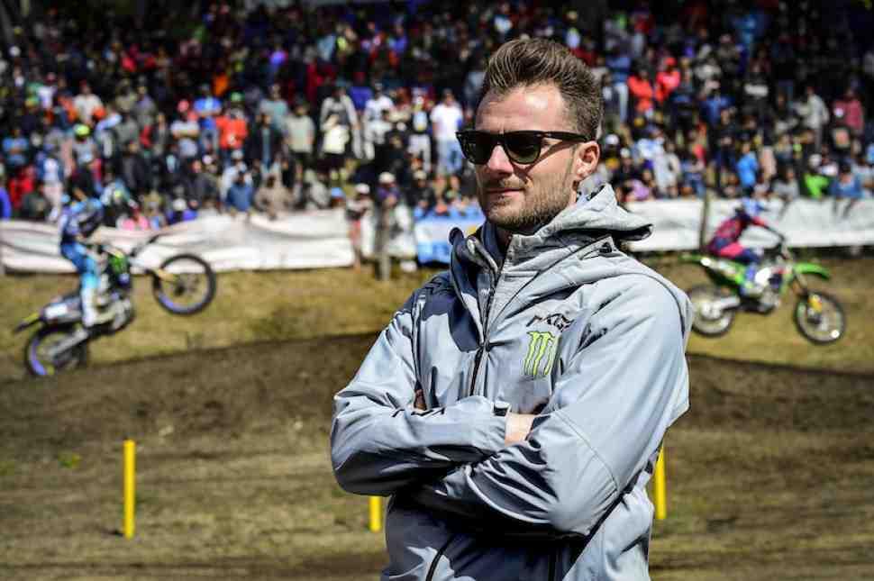 Мотокросс MXGP: обращение Девида Луонго, президента Infront Moto Racing