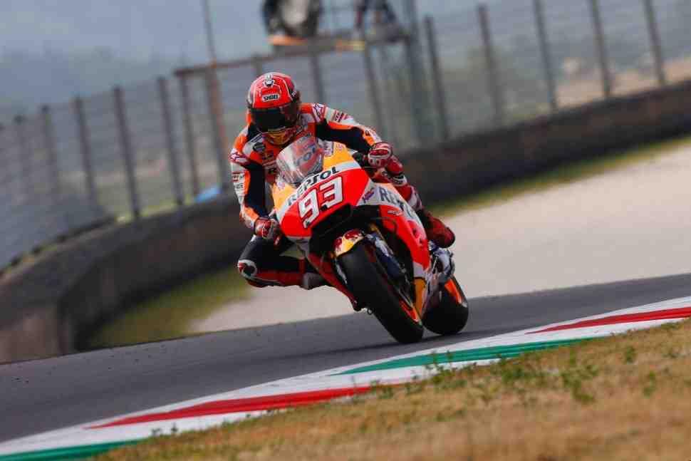 Маркес вновь возглавил рейтинг MotoGP Late Brakers в Mugello по данным Brembo