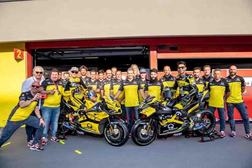 MotoGP: Alma Pramac Racing выйдет на старт Гран-При Италии в цветах Lamborghini