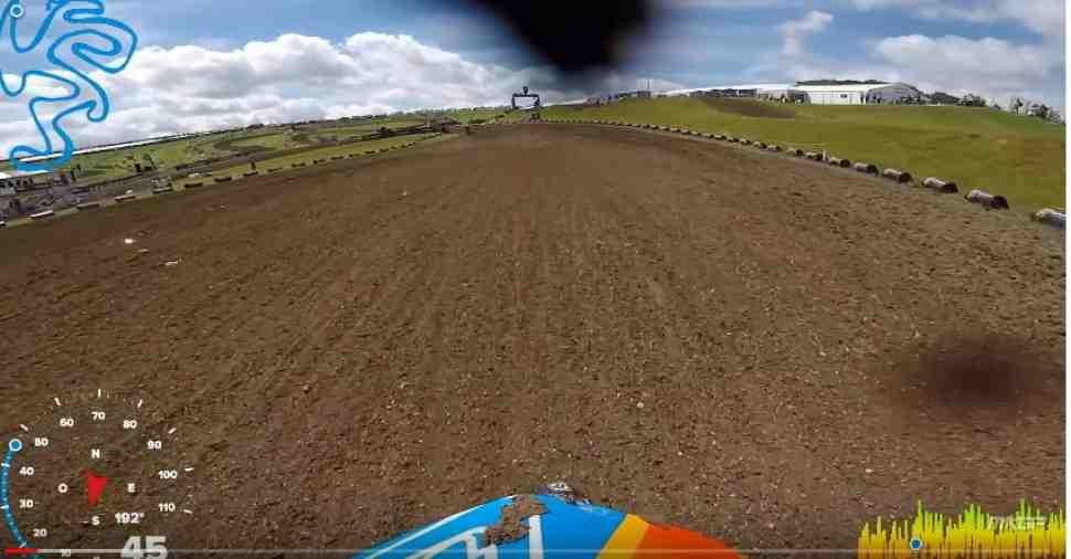 Мотокросс: круг по трассе Гран-При Великобритании - Matterley Basin (видео)