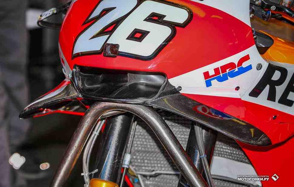Запрет винглетов в MotoGP отменяется после анализа ситуации с аварией Пирро?