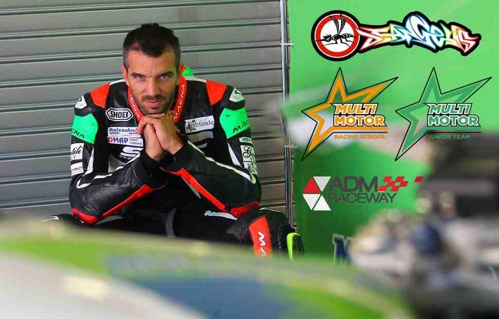 5-6 июля Алекс Де Анжелис проведет большой тренинг на новом ADM Raceway