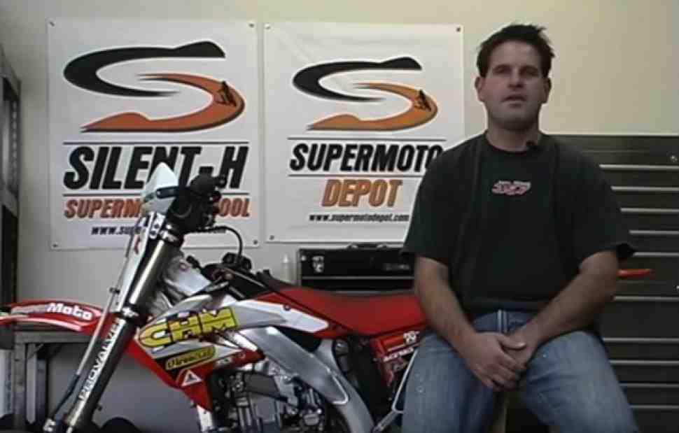 Азы супермото: экипировка, пилотирование и настройки мотоцикла - рассказывает Гари Тречи (видео)