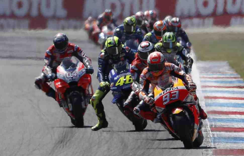 MotoGP: Довициозо признал преимущество Маркеса