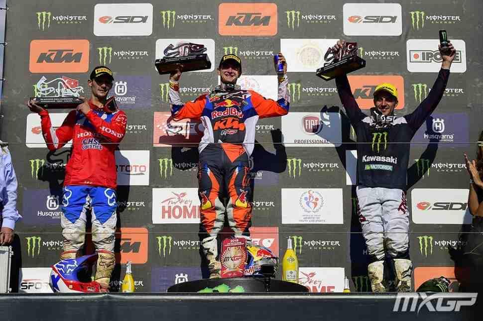 Мотокросс: результаты Гран-При Турции MXGP/MX2