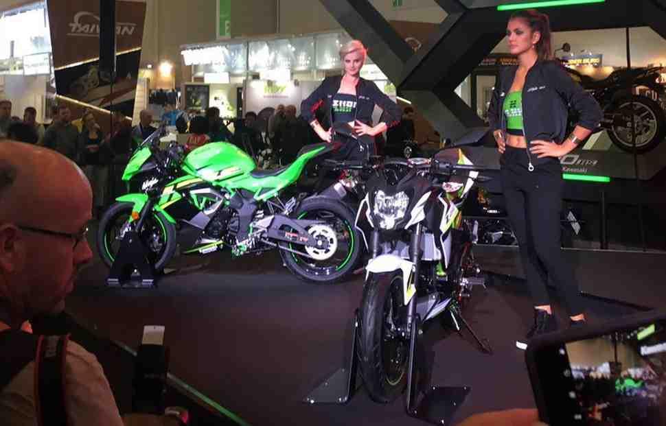 INTERMOT-2018: Полноразмерные Kawasaki Ninja 125 и Z125 - скоро ждать в России?