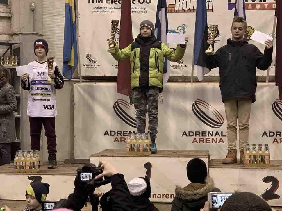 Детский мотокросс: россияне с медалями покидают 1-й этап Adrenalin Arena Kids Cup 2019/2020