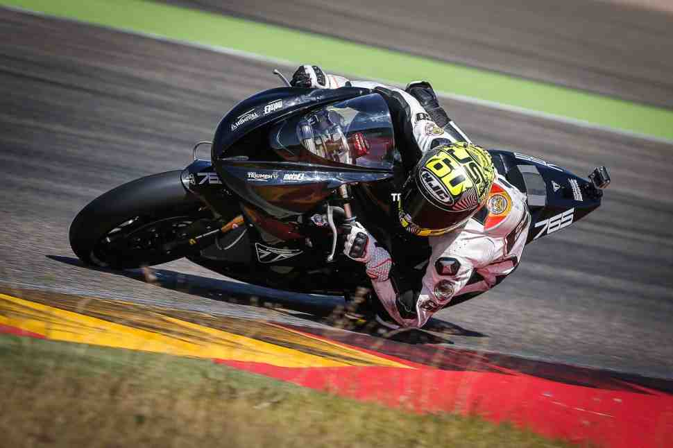 Back in black: ������� ��������� ������� Triumph � British Supersport � 2021 � � WorldSSP � 2022