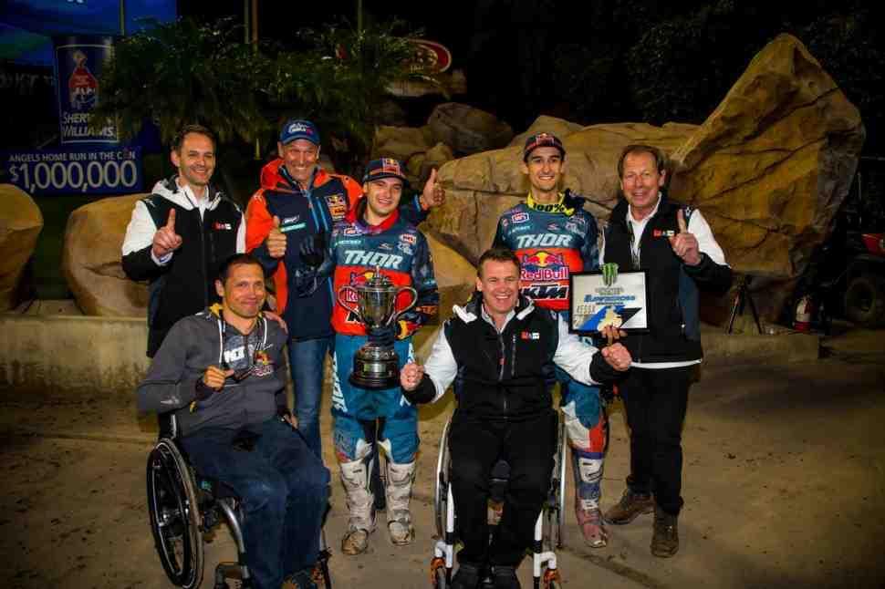 FIM/AMA Supercross 2019: результаты 3 этапа - Anaheim