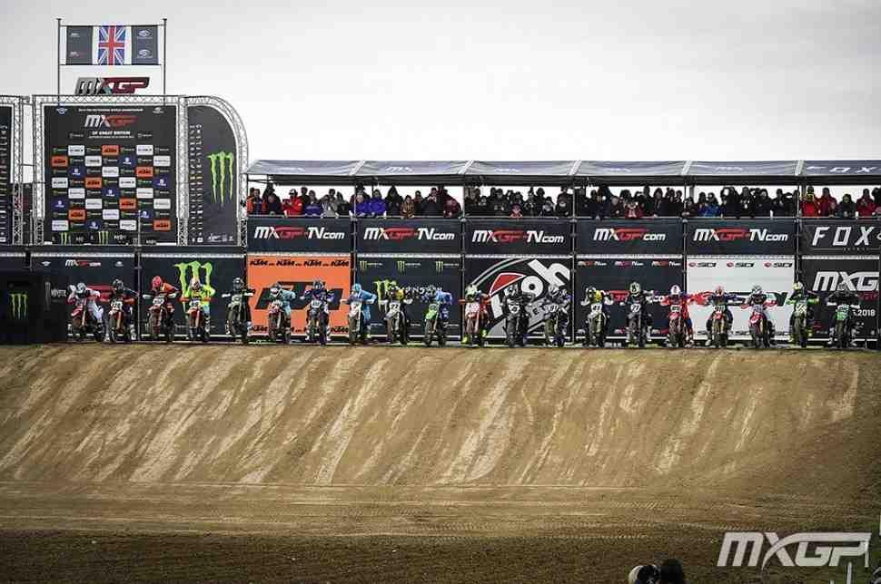 Мотокросс: списки участников 1 этапа Чемпионата Мира MXGP/MX2 2020 - Великобритания