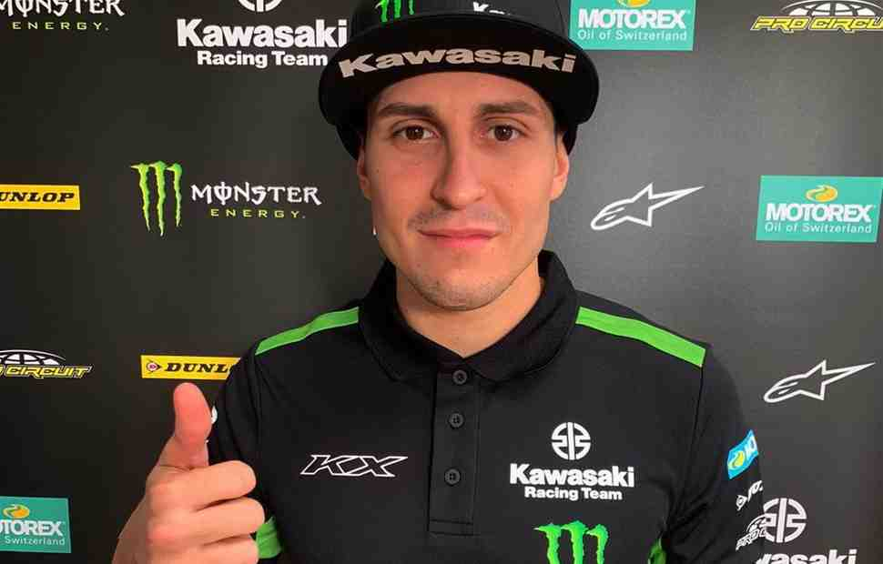 Monster Energy Kawasaki Racing Team объявила имя второго пилота команды в MXGP 2021 года