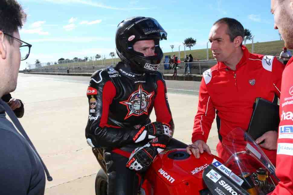 �������� �� ��������� ������������� Ducati � SBK: ���������� ������ British Superbike