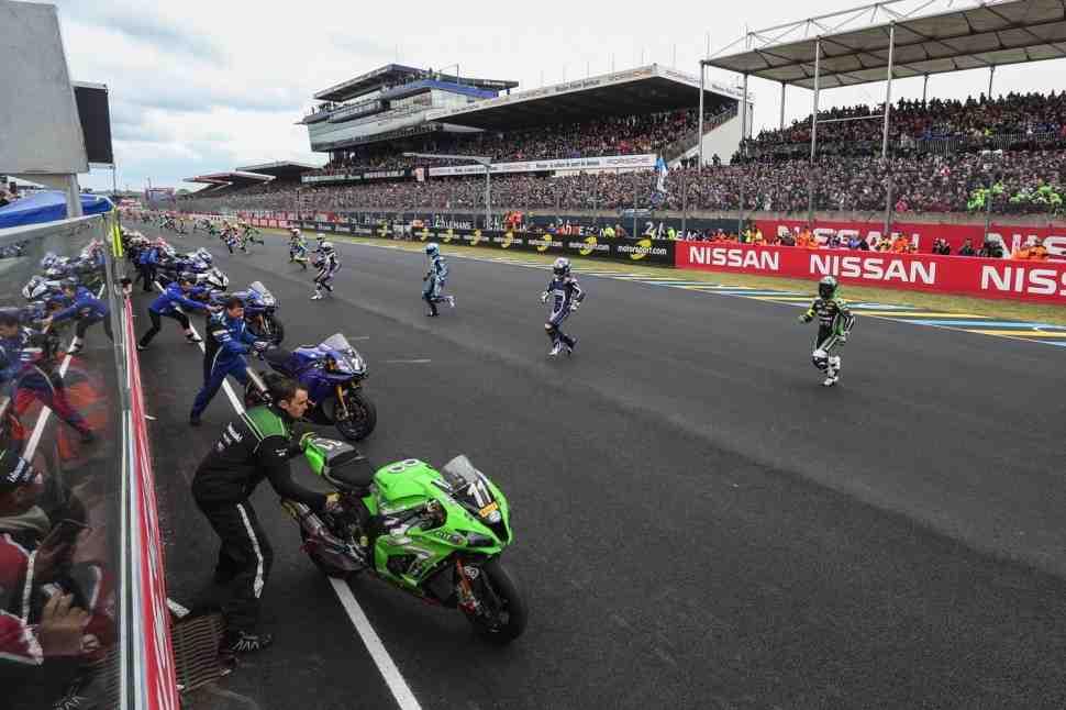 EWC: Eurosport покажет 24 Heures Motos 2018 от старта до финиша