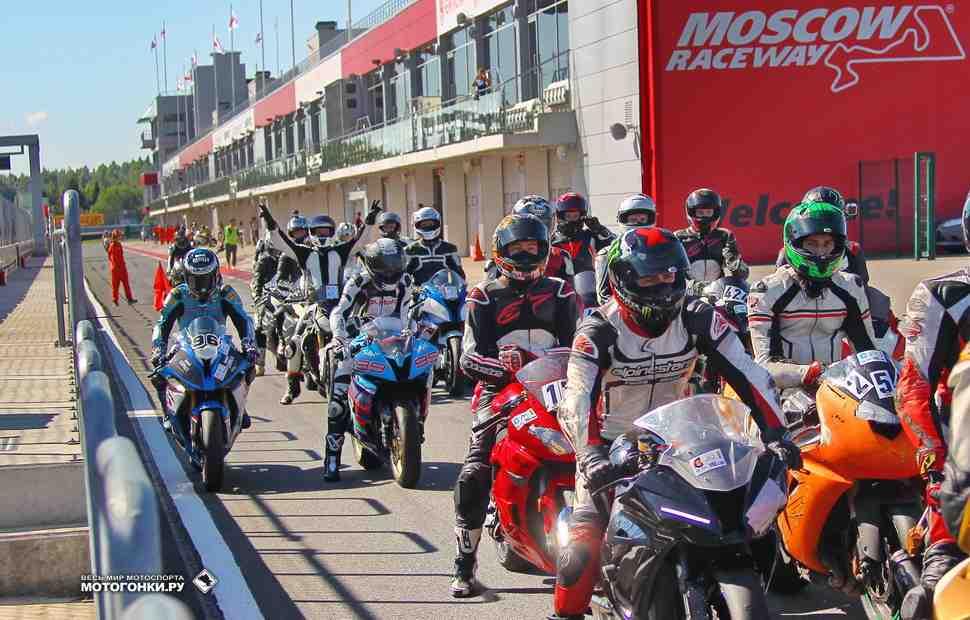 TrackRaceDays 2018: календарь мотоциклетных трек-дней на Moscow Raceway
