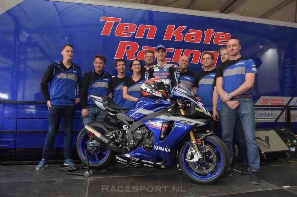 WSBK: Ten Kate Racing Yamaha �������� ���� ����� �����