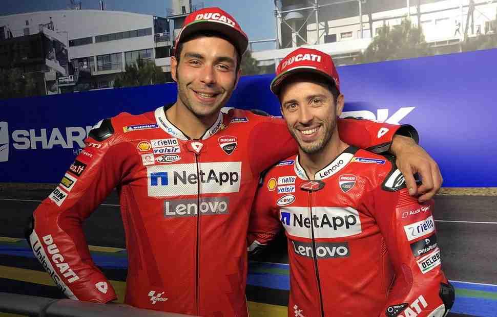 MotoGP: Данило Петруччи переступил через свое эго ради Довициозо. Оценит ли это Ducati?..