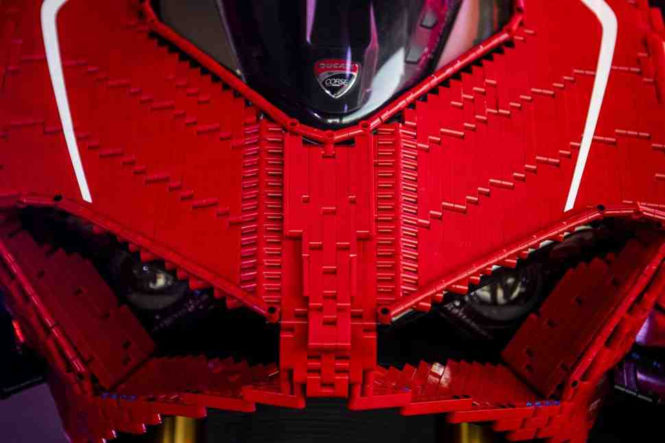 Дорогая, я собрал Ducati V4 R!