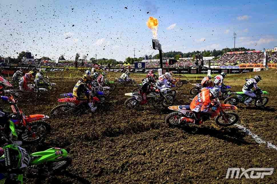 Мотокросс: видео Гран-При Швейцарии MXGP/MX2