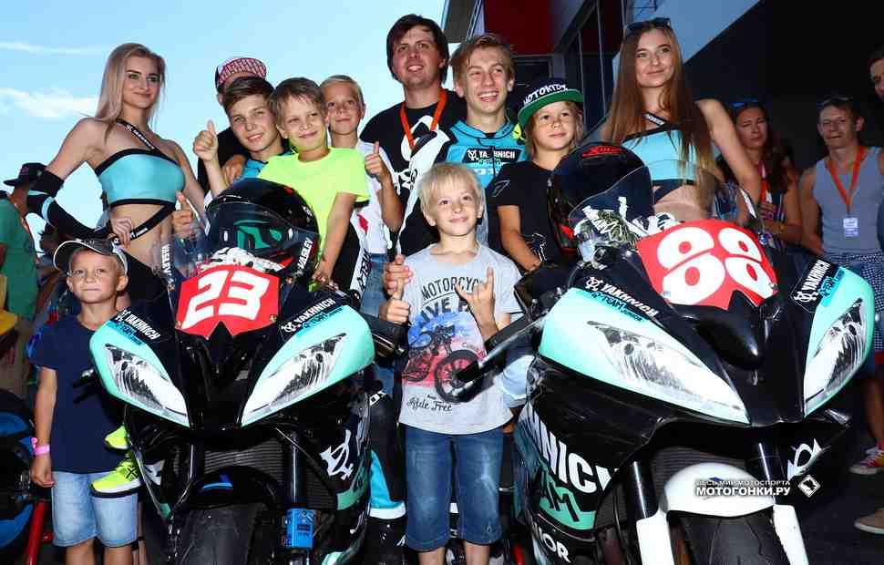 RSBK: Yakhnich Q-Team Junior - Твой первый выращенный чемпион