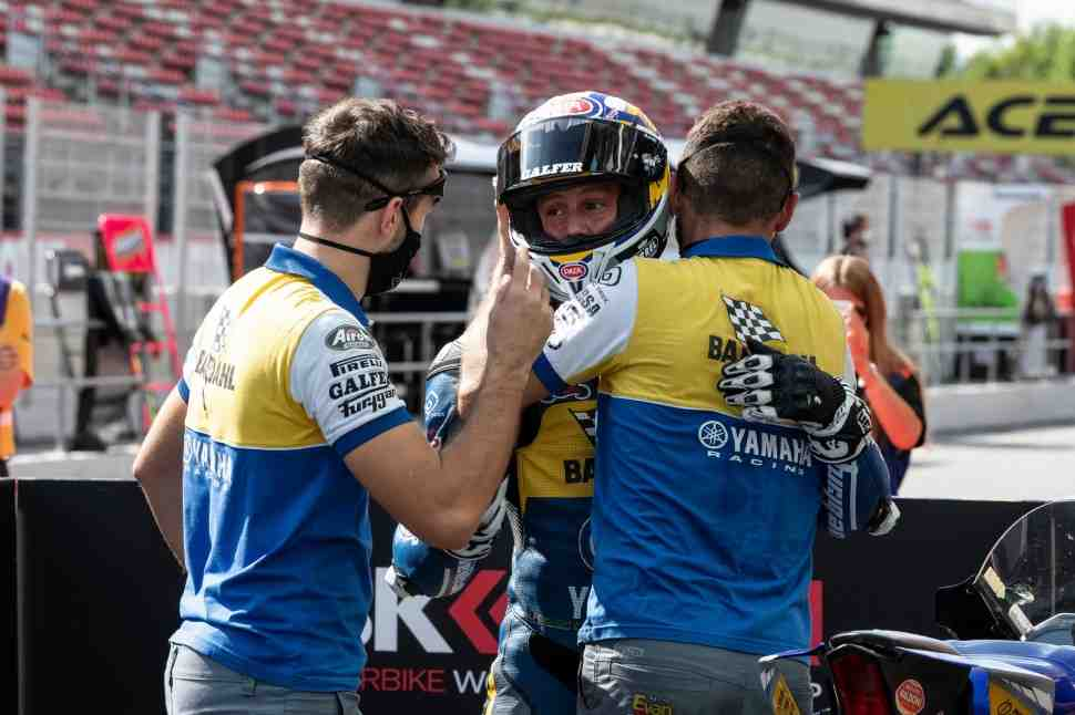 ������ ��������� � Yamaha �������� ����� ���������� World Supersport 2020